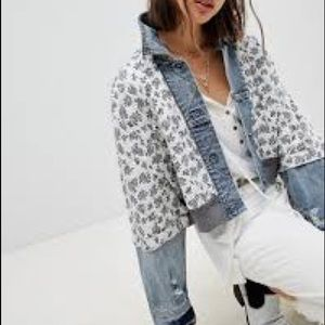 Jackets & Blazers - ISO free people ditsy denim jacket
